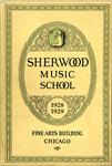 Sherwood Music School Annual Catalog 1928-1929