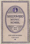 Sherwood Music School Annual Catalog 1929-1930
