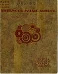 Sherwood Music School Annual Catalog 1932-1933