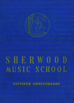 Sherwood Music School Annual Catalog 1944-1945