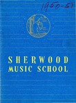 Sherwood Music School Annual Catalog 1950-1951 by Sherwood Music School