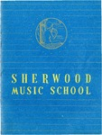 Sherwood Music School Annual Catalog 1952-1954 by Sherwood Music School