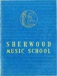 Sherwood Music School Annual Catalog 1952-1954