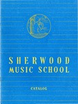 Sherwood Music School Annual Catalog 1955-1956 by Sherwood Music School