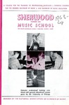 Sherwood Music School Annual Catalog 1968-1969 by Sherwood Music School
