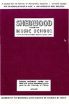 Sherwood Music School Annual Catalog 1973-1975