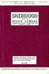 Sherwood Music School Annual Catalog 1978-1980