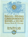 School Catalog by Siegel-Myers Correspondence School of Music