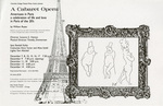 A Cabaret Opera: Americans in Paris, a Celebration of Life and Love in Paris of the 20s, 1994