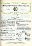 Violin Course: Grade 1, Lessons and Tests No. 13