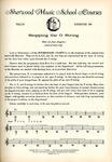 Violin Course: Grade 1, Exercise No. 109